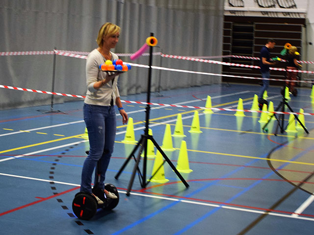 Fun challenges with miniSegways